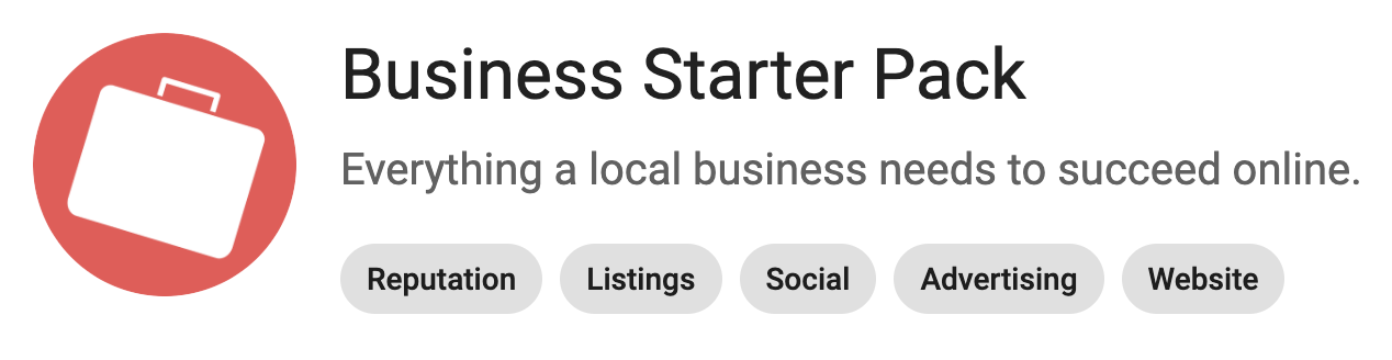 Business starter pack image.